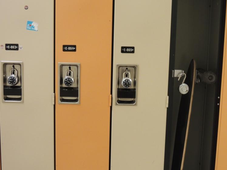 Longboard Locker